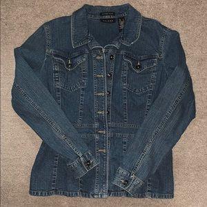Ladies Axcess Denim Jacket LARGE